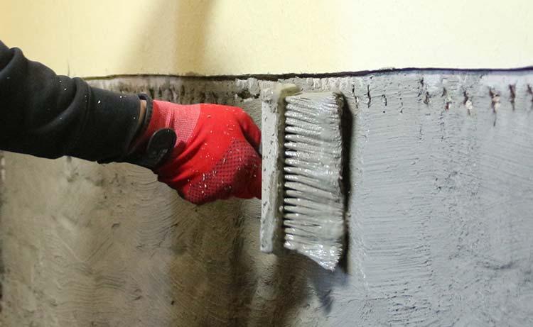 kellerabdichtung mit sanierputzsystem zur vermeidung eindringender und aufsteigender. Black Bedroom Furniture Sets. Home Design Ideas